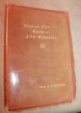 1916 GEORGE KLEINE'S CYCLE OF FILM CLASSICS WILLIAM JOHNSTON Silent Spartacus