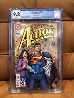 Action Comics 1000 - CGC 9.8 - 1990's Variant - Comic Book - Superman - DC