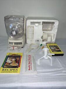 Ronco Popeil P400 Automatic Pasta Maker Machine With Accessories & Manuals