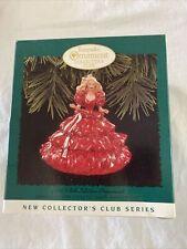 Holiday Barbie Collector's Club Hallmark Keepsake Ornament 1996 in Box #1 Series