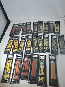 Lot Of 24 Madeira Six Strand Cotton Embroidery Floss Assorted Browns and Yellows