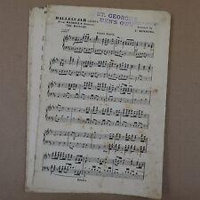 orchestra parts HANDEL HALLELUJAH CHORUS arr e binding
