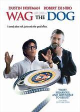 WAG THE DOG Movie POSTER 27x40 D Dustin Hoffman Robert De Niro Anne Heche Woody