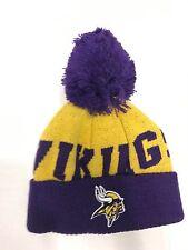 NFL Newborn/Infant/Toddler Minnesota Vikings Team Colors Cuffed Knit