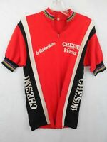 Vtg Chesini Verona cycling jersey maillot cycliste Eroïca Sz 6 CICLI