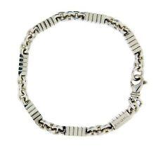 Enigma By Bulgari ladies / kids bracelet in sterling silver 7 inches.