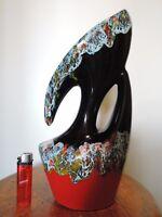 TITANO, San Marino, ITALY Vase, ALLA MODA ceramics, 1950s - 60s Keramik, 32 cm