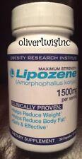 Lipozene Maximum Strength 30 Capsules 1500 mg Weight Loss  Expires JANUARY 2022
