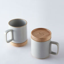 BLUE BOTTLE COFFEE × HASAMI PORCELAIN Mug & Original Tray Gloss Gray