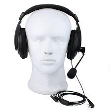 2 Pin Retevis VOX Headset Earpiece For Walkie Talkie/Two Way Radios Black New