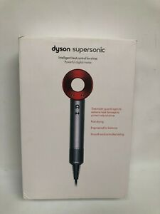 EMPTY Box ONLY from DYSON Supersonic Red Hair Dryer ***  Original Box