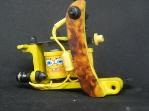 BOGEYMAN IRONS CUSTOM LINER TATTOO MACHINE - NO4 - SPARE PARTS-FRAME-INK - COILS