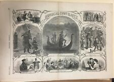 Pages 377-378 from June 15, 1867 Harper's Weekly magazine.  Pictures and text