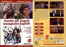 ANCHE GLI ANGELI MANGIANO FAGIOLI - DVD NUOVO E SIGILLATO, EDIZIONE RESTAURATA