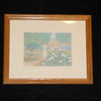 "E. L. FLANAGAN  ""A MOMENT to CHERISH "" Print Signed by Artist"