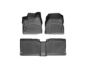 Black CFMBX1GM8583 Nylon Carpet Coverking Custom Fit Front and Rear Floor Mats for Select GMC Terrain Models