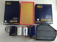 Oil Filter Air Activated Carbon Fuel SCT GERMANY W210 240 280 320 430