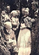 """Photographie, """"Frida Kahlo, Rivera, Breton et Trotsky"""", Mexique, 1938   / 15x20"""