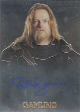 Lord Of The Rings LOTR Trilogy Autograph Card Bruce Hopkins as Gamling