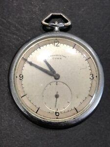 Montre Gousset Cyma Chronomètre