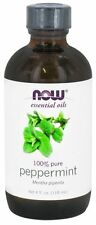 100% Pure Peppermint 4oz NOW Foods Essential Oils Fragrance For Burners & Diffus