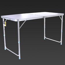 4-Feet Aluminium Folding Portable Camping Table Picnic Garden Party BBQ Dining