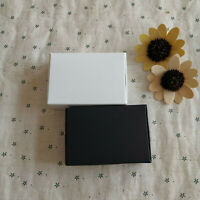 100 Black Kraft White wedding favor paper boxes birthday party candy chocolate