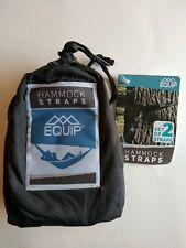 New listing Equip Hammock Straps Black In Bag 97603 New *Free Shipping