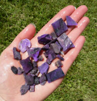 50g Lot SUGILITE Rough from Kalahari, South Africa - Natural & Untreated 37497