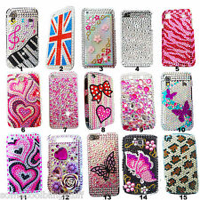 NEW DELUX 3D BLING SPARKLE DIAMANTE DIAMOND CASE COVER BLACKBERRY 9320 9330 UK