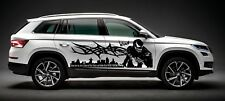 SPIDERMAN VENOM TRIBAL SPIDER WEB  DECAL GRAPHIC VINYL SIDE CAR TRUCK