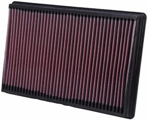 Fits Cadillac Escalade 2007-2018 6.0/6.2L K&N High Flow Replacement Air Filter