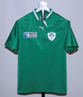 Ireland national rugby union team shirt jersey Puma Size S World Cup 2011