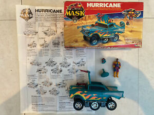 M*A*S*K Kenner Hurricane 1986 Complete Hondo Maclean Box And Instructions