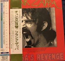 Frank Zappa CHUNGA'S REVENGE Japan Mini-LP CD VACK-1212 Mothers Of Invention OOP
