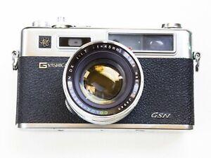 Yashica Electro 35 GSN Rangefinder Film Camera DX 45 mm Lens