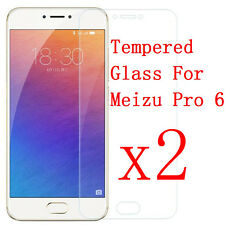 2X 2.5D Premium Tempered Glass Screen Protector Protective Film for MEIZU Pro 6