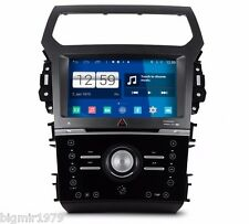 """9"""" Android 4.4 Car DVD Player Radio GPS for Ford Explorer 2012-2014 Manual Air"""