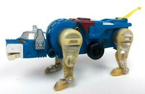 Vtg 1984 VOLTRON LJN BLUE LION FORCE Transformer Pull Back Motorized Toy As is