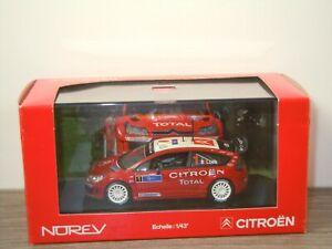 Citroen C4 WRC - Norev 1:43 in Box *53508