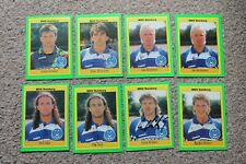 More details for bundle msv duisburg fc hand signed sticker cards x8 germany german 90's