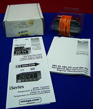 OMEGA DPi8C 1/8 DIN ULTRA COMPACT TEMPERATURE METER