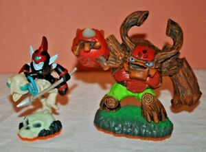 Skylanders Giants Bundle 2 Figures. Tree-Rex & Fright Rider. 2012 Activision.
