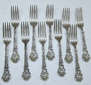 Imperial Chrysanthemum by Gorham Sterling Silver Pastry Fork 5 34