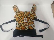 Ergo Infant Baby Sling Ergobaby Cheetah Safari Tiger RARE Print Baby Carrier