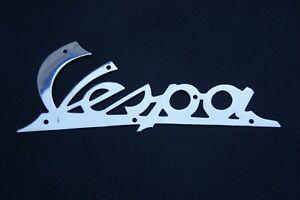 VESPA ACMA Legshield Chrome Badge.