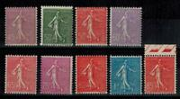 (a19) timbres France n° 197/205 neufs** année 1924