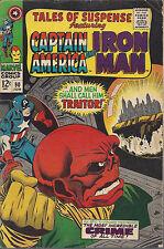 Tales of Suspense #90 Vg/Fn Silver Age June 1967 Captain America Iron Man