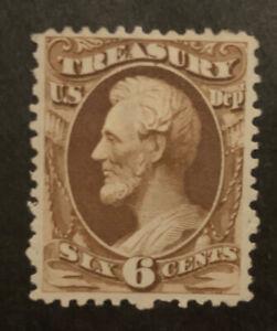 TDStamps: US Official Stamps Scott#O75 Mint H OG