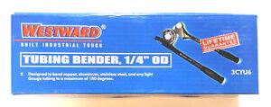 """Westward Tubing Bender, 1/4"""" OD 3CYU6"""
